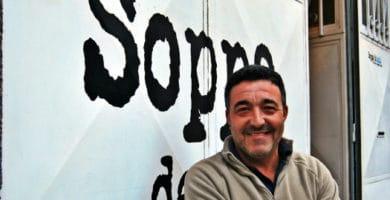 Alecs Navio, the owner of Soppa de Azul