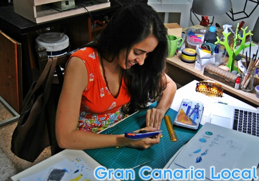 Paola Duque is one of Gran Canaria's leading jewellery designers