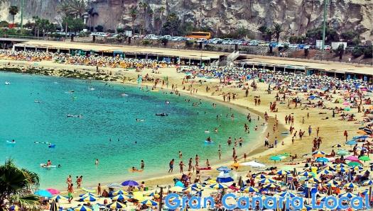 Amadores beach view