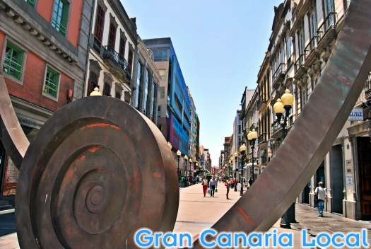 Calle Mayor de Triana, Las Palmas de Gran Canaria's main shopping street