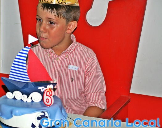 We've plenty of experience of kids' birthday parties in Gran Canaria