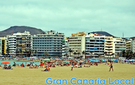 Las Canteras' longest stretch of beach, Playa Grande