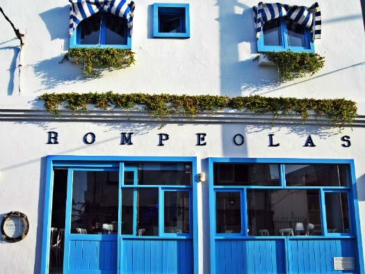 Rompeolas, one of six sensational Fuerteventura restaurants