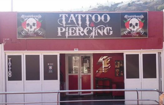 Crossbones Tattoo Estudio, one of our recommended Gran Canaria tattoo parlours