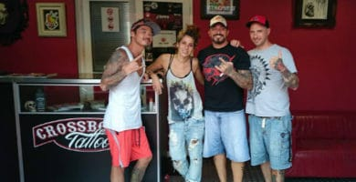 CrossBones Tattoo Estudio are one of the leading Gran Canaria tattoo parlours.