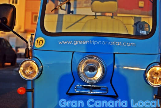 Green Trip Canarias, the stylish tricyle