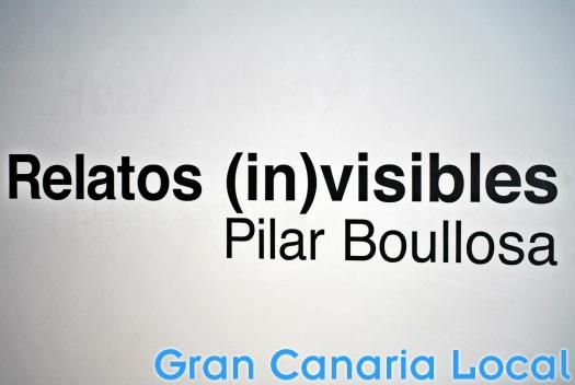 Visit Vegueta's Fundacion Mapfre Guanarteme for Pilar Boullosa's Relatos (in)visibles.