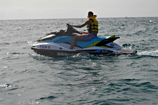 Atlantic Wake Jetski Tours use the latest Sea-Doo models