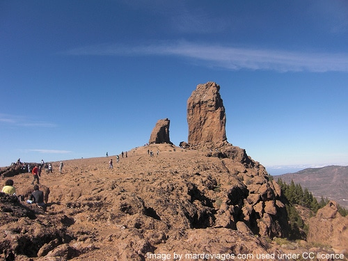 Roque Nublo, one way you'll fall in love with Gran Canaria