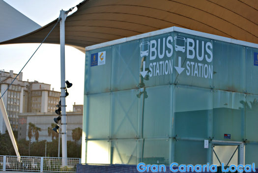 Buses on Gran Canaria are easy to find