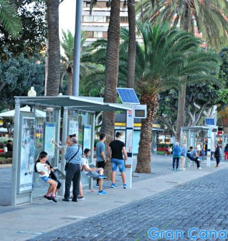 Buses on Gran Canaria don't bypass the major areas