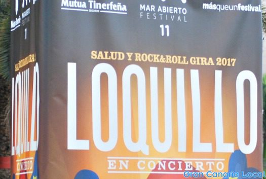 Loquillo plays Gran Canaria