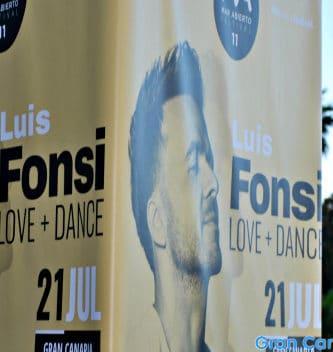 Luis Fonsi is coming to Las Palmas de Gran Canaria