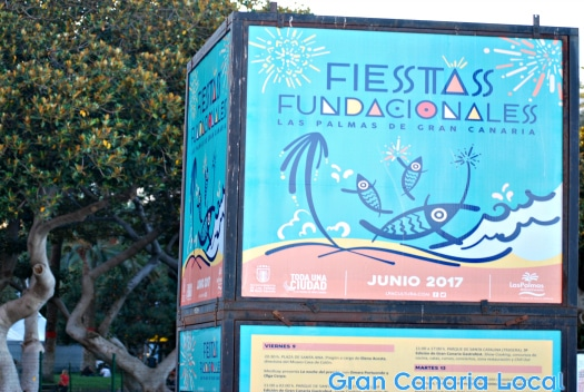 Things to do on Gran Canaria in June 2017 include the capital's Fiestas Fundacionales