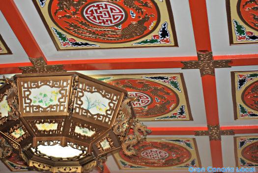 Puerta de Oro ceiling