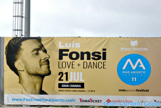 Seeing Luis Fonsi is one of things to do on Gran Canaria in July 2017