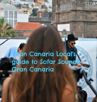 Sofar Sounds Gran Canaria explained