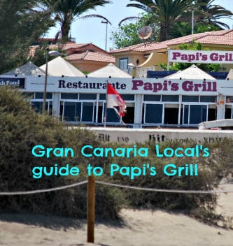 Papi's Grill Gran Canaria Local guide