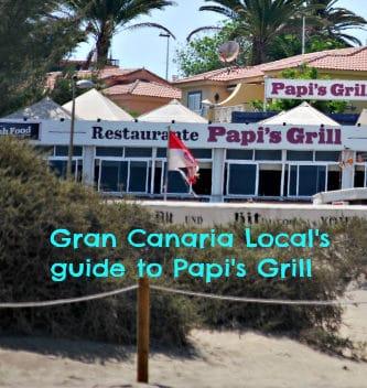 Papi's Grill Gran Canaria Local guide