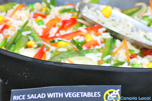 Sheraton Gran Canaria rice salad
