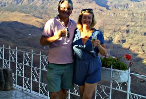 Jo and Marcel Hendrickx love living in the Gran Canaria countryside